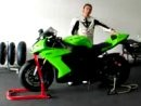 2008 Kawasaki ZX-10R Test in Katar at Losail Racetrack