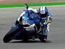 2009 Suzuki GSX-R 1000 Sportbike Review - Super Aufnahmen!