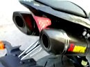 2009er Yamaha R1 with Akrapovic Slip on