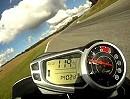 2011 Triumph Speed Triple - on track at The World Press Launch, Ascari