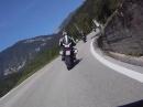 Anflug auf den Passo Brocon, Trentino, Dolomiten