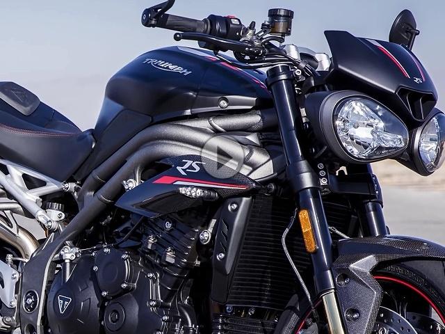 2018 Triumph Speed Triple RS - 150PS, 117 Nm