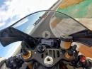 2018 Yamaha YZF-R1M onboard Lap Valencia 1:44