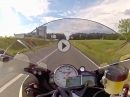 250 km/h ABS Test BMW S1000RR - Vollbremsung