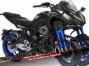 3 Räder, 3 Zylinder - Yamaha NIKEN, die Revolution des Fahrens!? von Motorrad Nachrichten