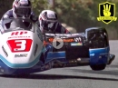 3 Wheeling - Sidecar Racing Isle of Man TT - Trailer geht steil