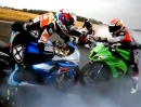 300km/h: GSX-R 1000 vs ZX10R vs S1000RR vs PANIGALE vs R1 vs CBR