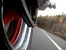34PS Honda Fireblade CBR 900 RR auf Landstraße unterwegs