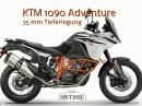 35 mm Tieferlegung für KTM 1090 Adventure von Team Metisse