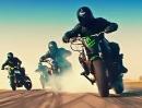 7 MÖRDER Drift Minuten: Motorrad vs Mustang Shelby Highspeed Gummivernichtungsvideo