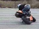 4:29 Min. Motorrad Stunts vom Allerfeinsten Rus Extrem