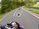 Sonntagsfahrer zügig unterwegs im Vogelsberg, Schotten