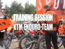 Trainingssession KTM Enduro-Team