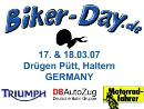 Triumph Biker-Day am Drügen Pütt in Haltern
