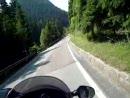 Lavazejoch / Passo Lavaze - Motorradtour Dolomiten 2008