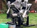 5 Liter V-Twin Eigenbau 'Flying Millyard' Mächtig :-)