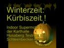 Motorradfahren im Winter: Indoor-Supermoto Onboard Husaberg FE 450