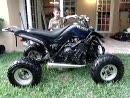 Extrem böse: Quad Yamaha Raptor mit R1 Motor