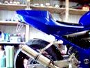 Barracuda Komplettanlage an Suzuki Bandit 600 GSF