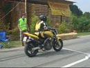 Honda Hornet beim Beschleunigungsrennen