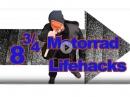 8 (3/4) Lifehacks für Motorradfahrer von Chain Brothers
