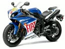 Supersportler Yamaha YZF R1 2010 - limitierte Rossi Replica