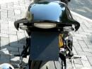 Motorradfahrwerk - Heck hochdrehen / Gabel durchstecken