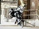 Aaron Twite - Motorradstunt in geiler Location - geile Aufnahmen