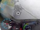 Abartig! Le Mans onboard 220PS und Regen: Niccolo Canepa Yamaha R1 von GMT94