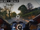 300km/h: M. Rutter onboard TT 2018 Ducati Panigale V4S - 186 MPH = 300 km/h