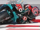 Abartig!!! Shoulder down, Elbow down, Knee down - Fabio Quartararo