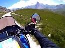 Offroad Motorradtour: Abfahrt Maira Stura Kammstraße, Italien