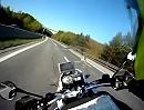 Abfahrt Semmering Richtung Wien - Reisegeschwindigkeit 180km/h - die Frisur sitzt