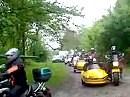 Abfahrt zur Ausfahrt VG 2010. Mit Förster Bodo im Biotop Saarland unterwegs