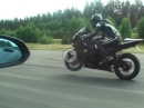 Abgeduscht: Lamborghini Gallardo vs. Turbo Bike