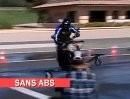 ABS in Aktion - Interessanter Vergleich - für alle ABS Verneiner