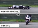 ABS vs. Kurvenabs (MSC) - die Unterschiede anschaulich vorgeführt