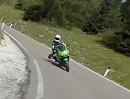 Adria - Dolomitentour 2010 flott unterwegs, gefilmt mit ContourHD 1080p