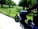 Aerox Wheelie Fun