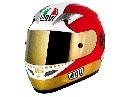 AGV Ti-Tech Giacomo Agostini Replica