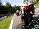 AIM SmartyCam inboard bei einem Motorradrennen in Monza - Top Qualität!