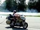 Airbagtest Honda Goldwing