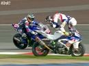 Akrobatischer Crash Julian Mayer, BMW Schrott - Speedweek Oschersleben 17