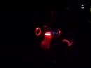 Akropovic bei Nacht Yamaha MT 01