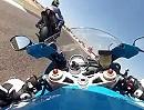 Albacete onboard mit BMW S1000RR 2012 engagiert aufgezündet