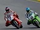 Superbike WM 1993 - Albacete (Spanien) Race 2 Zusammenfassung.