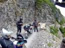 Albanien von Vermosh nach Koplik - Motorradtour