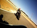 Alcarras Circuit onboard Harley Davidson XR1200 - Mike Spike Edwards