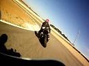 Alcarras Circuit onboard Harley Davidson XR1200 - Mike Spike Edwards