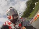 Alex Hofmann Mugello (Italien) 2013 onboard für Sport1 - mit 300 über die Renne!
